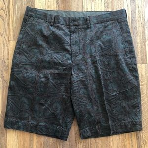 Polo Ralph Lauren cotton paisley floral shorts 36